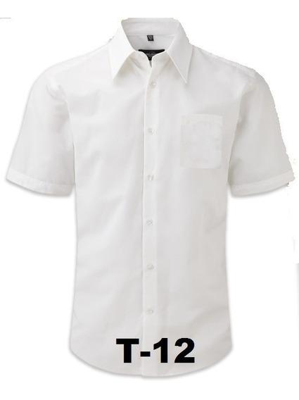 Camisa Blanca Escolar Tallas 1216