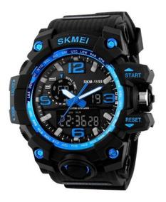 Relógio Militar Skmei Shock 1155 Original À Prova D