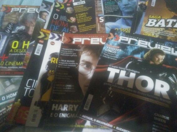 Revista Preview (várias Edições)