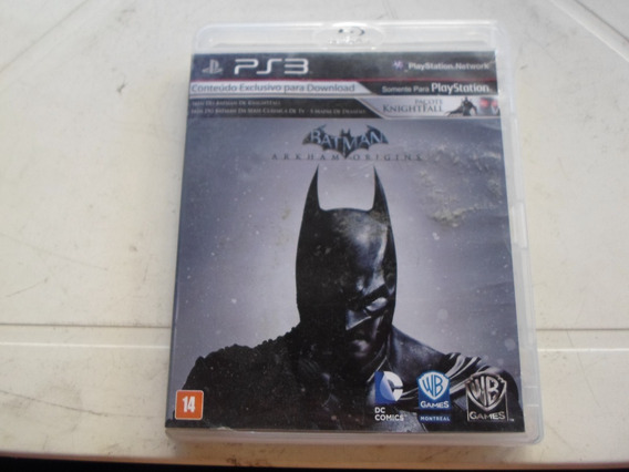 Batman Arkham Origins Original Completo Playstation 3 - Ps3