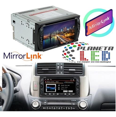 Radio Pantalla Doble Din Touch Bluetoth Cd Mirror Link Tv Sd