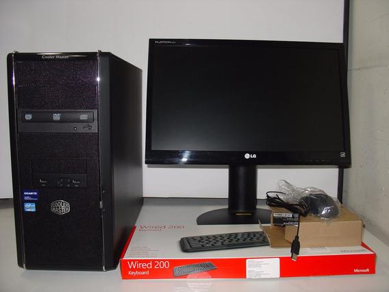 Cpu Intel Core I5 3,0 Ghz 8 Gb Hd 1tb Monitor Lg 22 Nc340