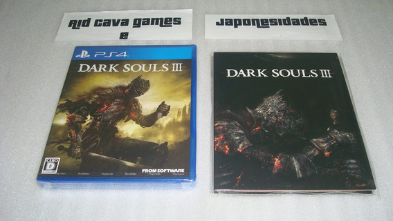 Dark Souls 3 First Press Limited Edition Ps4