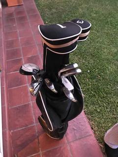 Set Completo De Golf Tiger Vortex! Impecable!