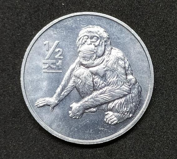 Corea Del Norte - Moneda De 1/2 Chon - Año 2002