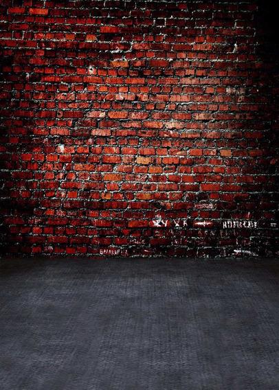 Fundo Infinito Fotografico P/ Newborn 1.5m X 2.1m Tijolos