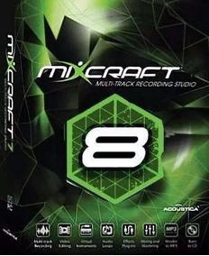 Mixcraft Studio 8 Br Pacote De Musica + 50 Set Mixado