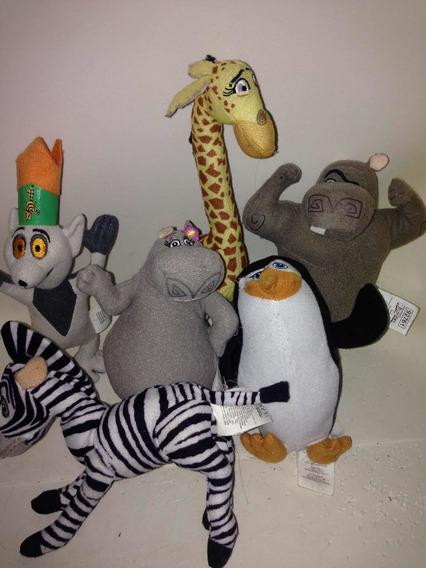 Lote Bonecos Pelucia Mc Donald - Madagascar
