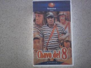 Chavo Del 8 Ocho Lo Mejor Video Televisa Vhs