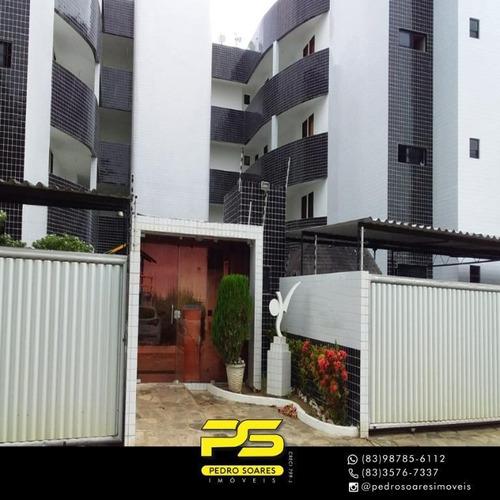 Apartamento Com 3 Dormitórios À Venda, 85 M² Por R$ 220.000 - Jardim Cidade Universitária - João Pessoa/pb - Ap3505