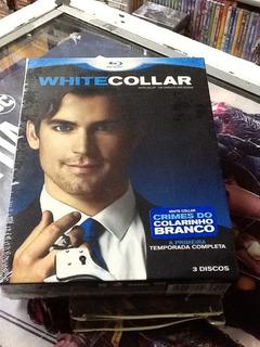 Blu-ray White Collar 1ª Temporada 3 Discos