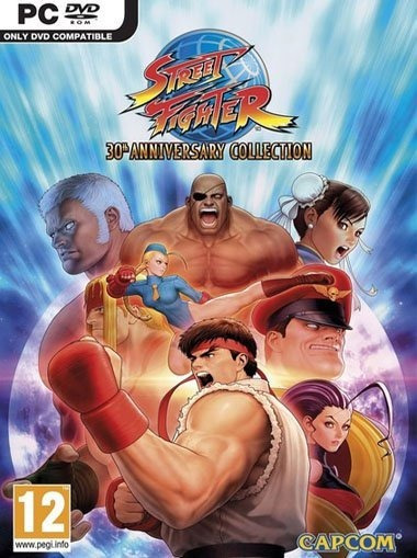Street Fighter 30th Anniversary Collection ( Midia Digital )