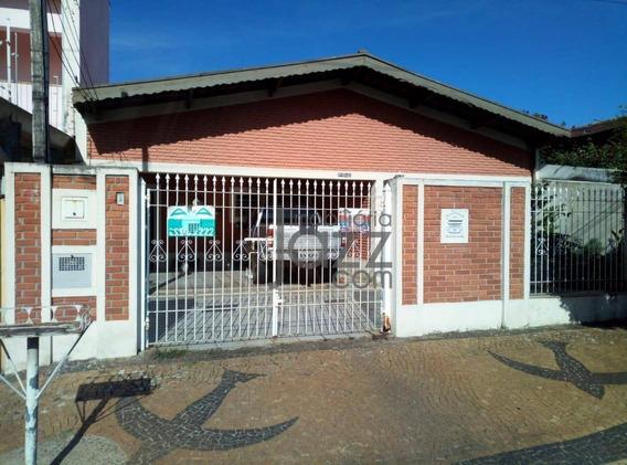 Casa Fantástica Com 3 Dormitórios À Venda, 220 M² Por R$ 660.000 - Parque Taquaral - Campinas/sp - Ca6327