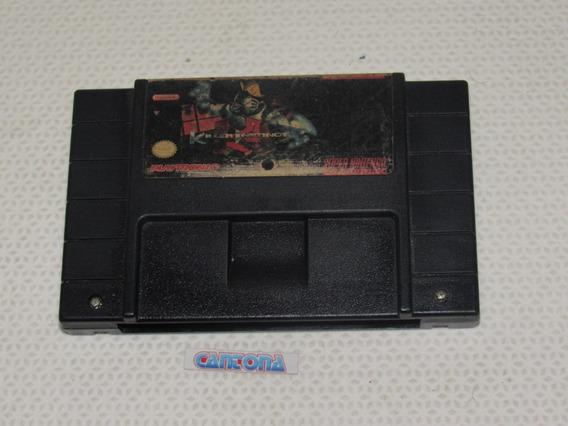 Killer Instinct Original Super Nintendo Playtronic
