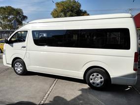 Toyota Hiace 2.7 Bus 15 Pas Mt Excelente, Tomoauto, Credito.