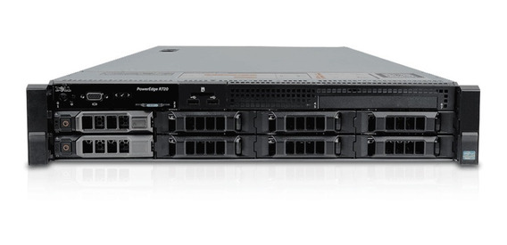 Servidor Dell Poweredge R720 2 Xeon Sixcore 128gb 2x Sas 2tb