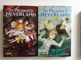 Pack 2 Números The Promised Neverland