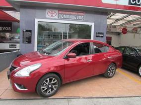 Nissan Versa Exclusive L4/1.6 Aut 2016 Rojo