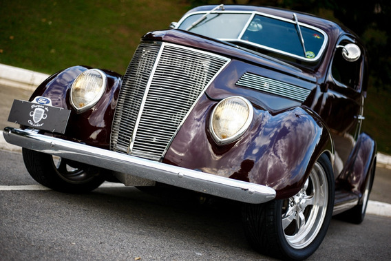 Ford 1937 Coupe ( Lata ) Motor 302 Cambio Tremec Manual