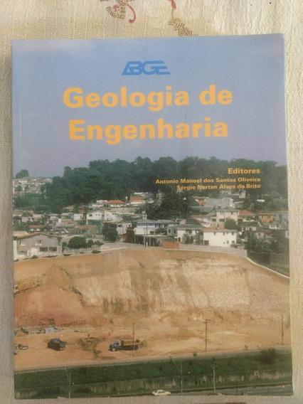 Livro Geologia De Engenharia