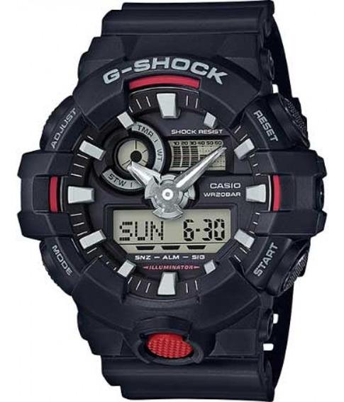Relógio Casio G-shock Ga-700-1adr + Garantia + Nfe Ga700