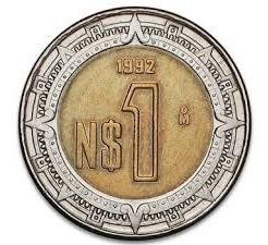 Moneda De 1 Peso Nuevo Mexicano