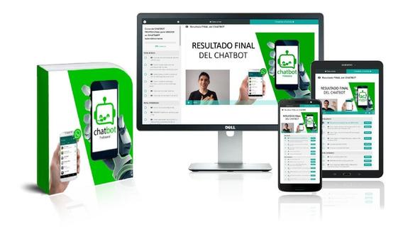 Curso Chatbot Profesional Para Whatapps - Completo