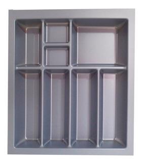 Cubiertero Porta Cubierto Gris Alemán 43,6x48cm Para Cocina