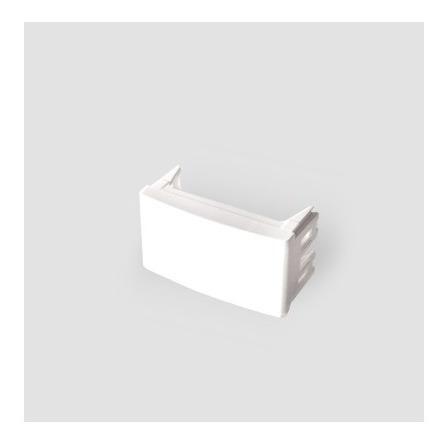 Imagen 1 de 3 de Modulo Tapon Ciego Kalop Tapa Pack X 10 Unidades