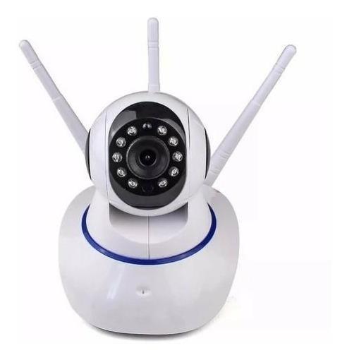 Câmera Ip Dvr Wifi Alarme Gravador Rj45 Visão Noturna Onvif