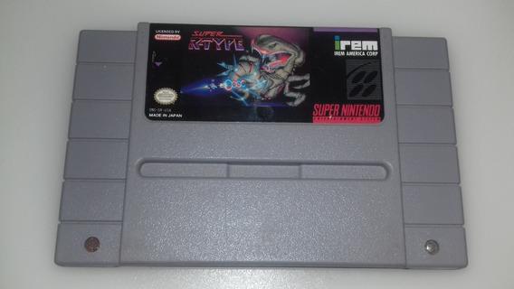 Cartucho Super Nintendo Jogo R-type Original