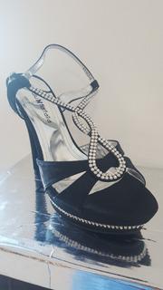 Zapatos Dama De Fiesta Blu Farfalla