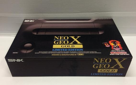 Caixa Vazia Neo Geo Gold X De Madeira Mdf