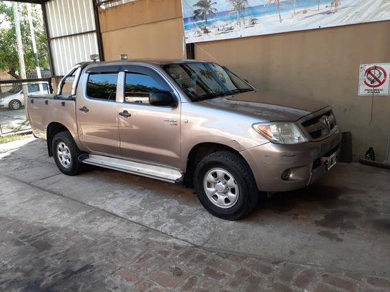 Toyota Hilux 2007 ,2,5 .diesel Gnc Turbo Vendo O Permuto