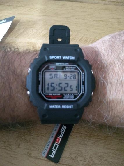 Relógio Digital Sanda 329 Sport A Prova D Água Shock