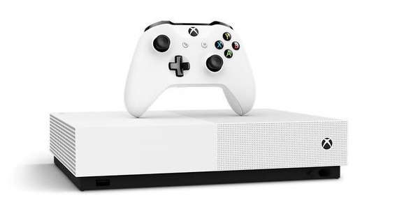 Console Xbox One S 1tb All Digital Edition Com 3 Jogos