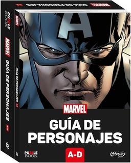 Marvel. Guia De Personajes Y Rompecabezas. Tomo 1 A-d - Aa.v