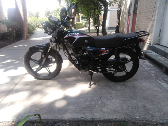 Mocicleta Veloci Boxter 150 Negra
