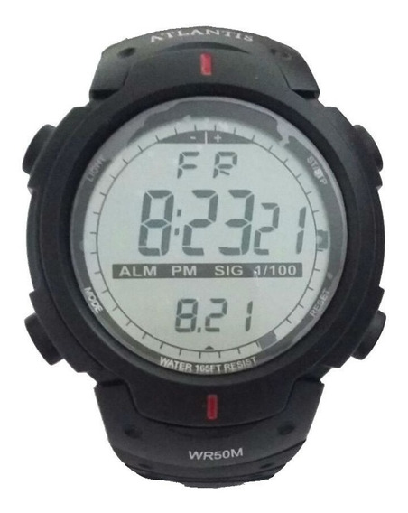 Relógio Atlantis Sport Digital 7330g - Promoção Frete Grátis