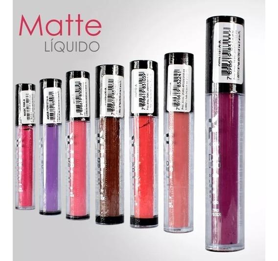 15 Batom Líquido Matte Fashion Atacado + Brinde
