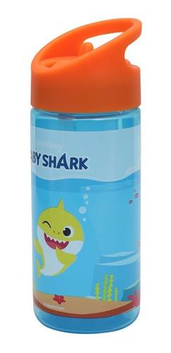 Botella Tritán Babyshark 400 Ml Naranja