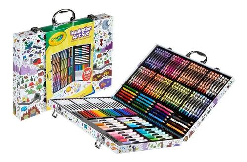 Set Arte Inspiration Art Case Crayola X 140 Piezas Dibujo