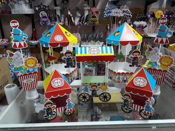 Combo Accesorios Candy Bar Circo