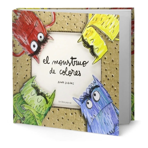 Imagen 1 de 6 de Libro El Monstruo De Colores [ Pop Up ] Version Grande, Dhl