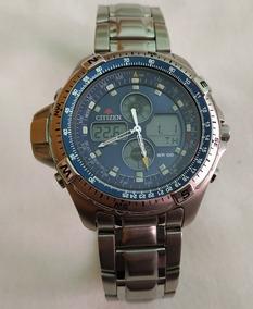 Relógio Citizen Promaster Temperatura Js1040-51l - Semi-novo