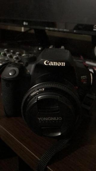 Câmera Canon T5i Com Lente Do Kit E Lente 50mm + Nota Fiscal