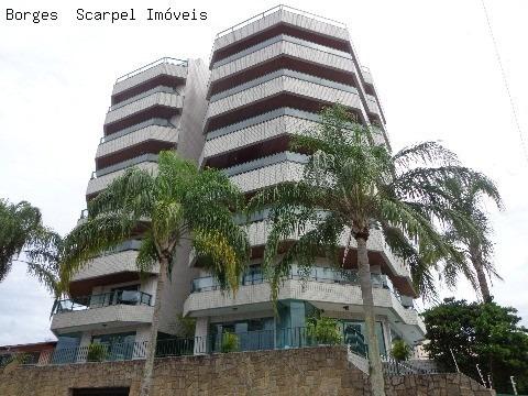 Excelente Apartamento Mobiliado No Jardim Primavera (ao Lado Do Centro), Alto Padrão E A Três Quadras Do Mar Para Venda * 120m2 De Área Privativa - Ap00210 - 2449111