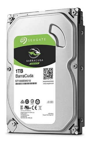 Hdd 1 Tera Seagate 1000gb Desktop Sata 3 Pode Retirar  Dsk