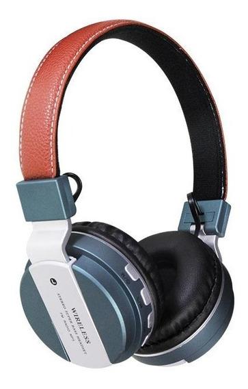 Fone Bluetooth B-55 S/ Fio Usb Fm Sd Headset