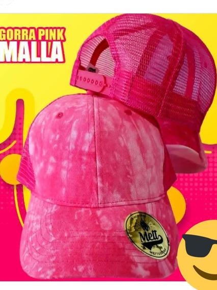 Gorra Malla Fucsia Pink